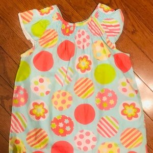 Girls Easter Top. Cute colorful Easter eggs